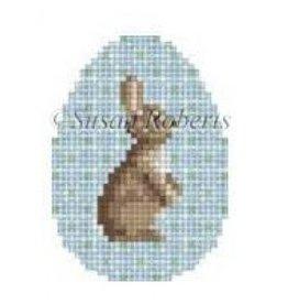 Susan Roberts bunny egg ornament