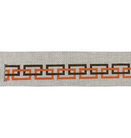 HSN Designs Chain pattern orange/brown sunglass strap (croakie)