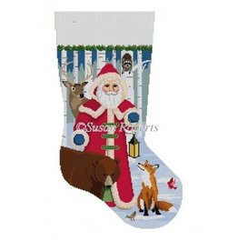 Susan Roberts Forest Friends stocking