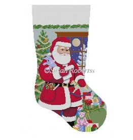Susan Roberts Santa's Toy Bag stocking