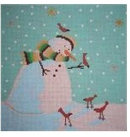 Point of it All Snowman/Cardinals<br />