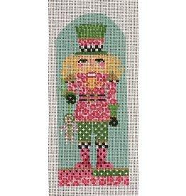 Kelly Clark Cheetah King Nutcracker ornament