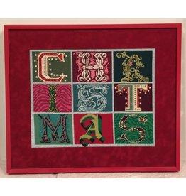 Ruth Schmuff Christmas Blocks<br />14&quot; x 11&quot;
