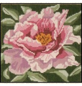 Needle Crossing Pink Tree Peony<br />