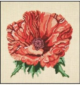 Needle Crossing Orange Poppy<br />