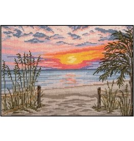 Needle Crossing Low Country Sunset<br />