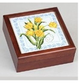 Sudberry House Simply Square Box - mahogany<br />