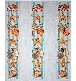 Elizabeth Turner Shell luggage rack straps