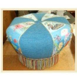 Fleur de Paris Hassock Footstool for <br />