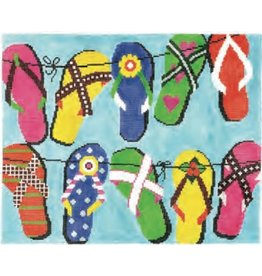 Colonial Needle Sandals<br />10.25&quot; x 8.25&quot;