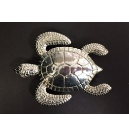 CRS Buckle - Large Turtle - Silver
