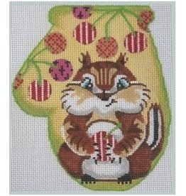 Julie Mar Chipmunk w/ Striped Cherries<br />