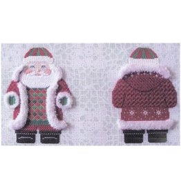 Susan Roberts Snowflake Red Jacket Santa<br />