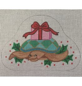 Annie Lee Christmas Turtle Ornament