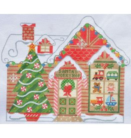 "Danji Santa's Workshop<br /> 9.25"" x 8.5"""