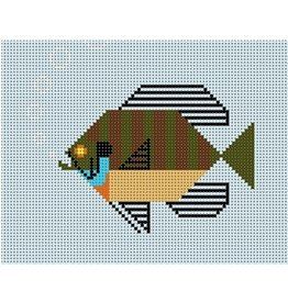 "Meredith Charley Harper's Blue Gill<br /> 6.5"" x 5"""