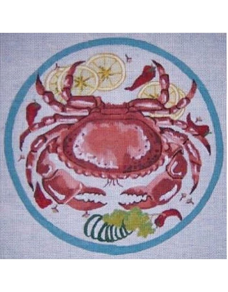 "Alice VanTrese Crab Louis<br /> 12.5"" round"