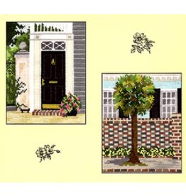 CW Designs City Gardens Collections 1<br /> Cross Stitch Pattern