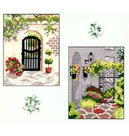 CW Designs City Gardens Collection 3<br /> Cross Stitch Pattern