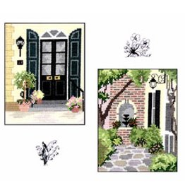 CW Designs City Gardens Collection 6<br /> Cross Stitch Pattern
