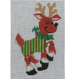 "Julia Prancer - ornament<br /> 5"" x 3"""