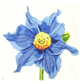Jean Smith Designs Blue Poppy<br />