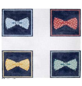 Elizabeth Turner Bow Ties coasters
