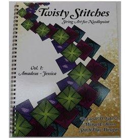 Rainbow Gallery Twisty Stitches Book