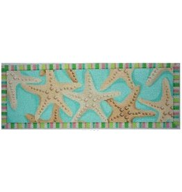 Associated Talent Starfish Frieze<br />