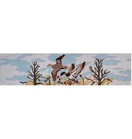 Meredith Winter ducks cumberbund