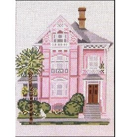 Needle Crossing Pink Charleston House<br />