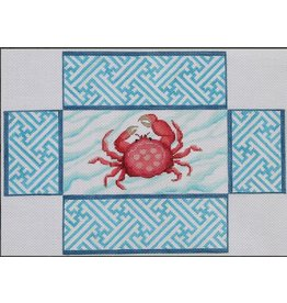 Kate Dickerson Chinoiserie Crab Brick Cover