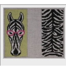 J. Child Zebra Eyeglass Case