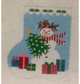 Shelly Tribbey Holiday Snowgirl 5x4.25
