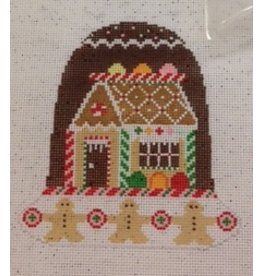 "Shelly Tribbey Gingerbread Christmas Bell (with accessory bell) 6""x4.5"""