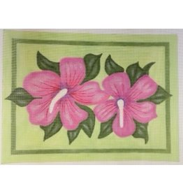 BB Needlepoint Design Double Hibiscus<br />