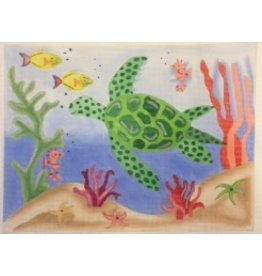 BB Needlepoint Design Sea Turtle<br />