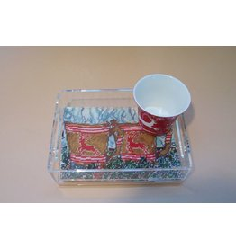 Cooper Oaks Tray 5x7 - lucite