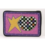 Alice Peterson Heart & Star cosmetic bag
