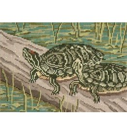 Needle Crossing Turtle Pond<br />