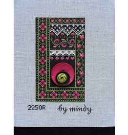 Mindy&#039;s Needlepoint Rose <br />