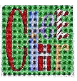 Associated Talent Cheer Square Coaster/Ornament