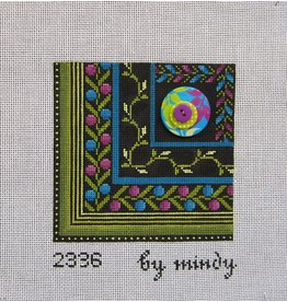 Mindy's Needlepoint Ornate Flower
