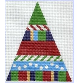 Artist Collection Striped Christmas Tree