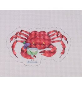 Kirk & Hamilton By the Sea - Crab with Drink - ornament