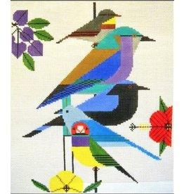 """Meredith Charley Harper's Rainforest Birds<br /> 10"""" x 12"""""""