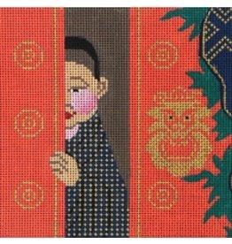 "Amanda Lawford Tibetan Prince<br /> 5"" x 5"""