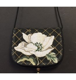 Sophia Designs Small Purse w/magnolia front canvas