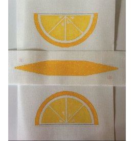Rachel Donley Lemon wedge purse