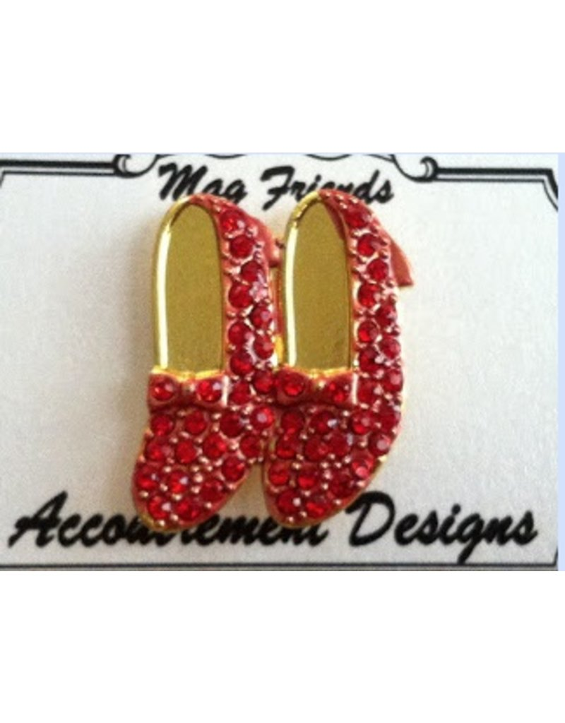Accoutrement Designs Ruby Slippers - Magnet